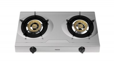 TECNO T0328SV 2-BURNER TABLE COOKER S/S