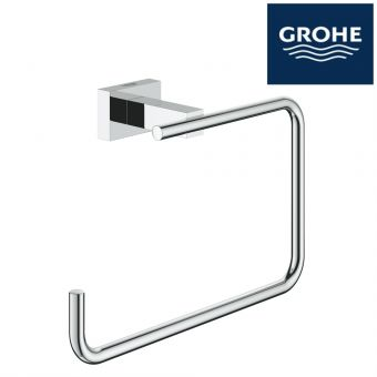 GROHE ESSENTIAL CUBE TOWEL RING : 40510001