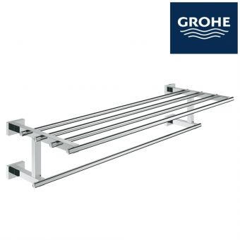 GROHE ESSENTIAL CUBE MULTI TOWEL RACK : 40512001