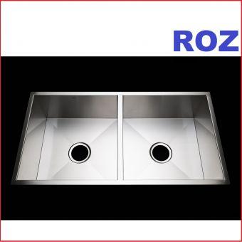 ROZ RZ-SD8645 R0 DOUBLE BOWL SINK S/S