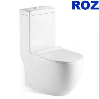 Roz 898 One Piece WC + ROZ RZP-8629 BIDET SEAT COVER