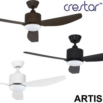 Crestar Artis Ceiling Fan 40/46inch with LED