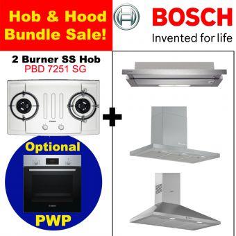 PBD7251SG & Hood with optional PWP Oven bundle