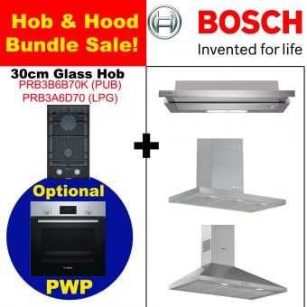 PRB3 & Hood with optional PWP Oven bundle