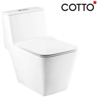 COTTO C103237SG SIMPLY MODISH 1-PC WC WHITE