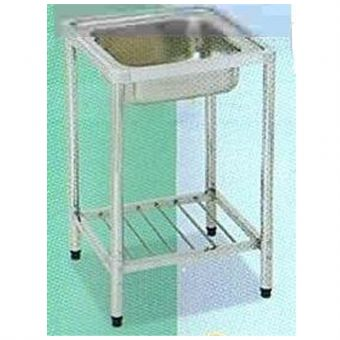DMS 050B 1B Sink With Stainless Steel Stand