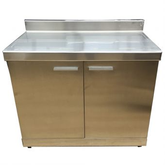 LED-1100 Stainless Steel Flat Top Cabinet