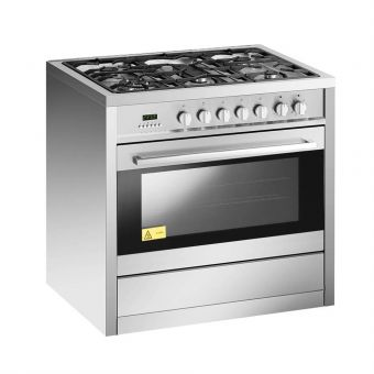 EF 90cm Free Standing Cooker Oven GC AE 9650 A SS