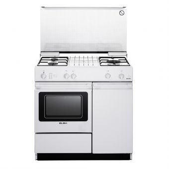 ELBA 90cm Free Standing Cooker Oven EEC 866 WH or EGC 836 WH