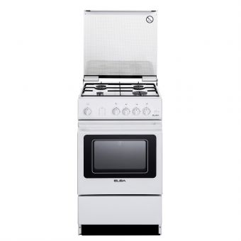 ELBA 50cm Free Standing Cooker Oven EEC 566 WH or EGC 536 WH