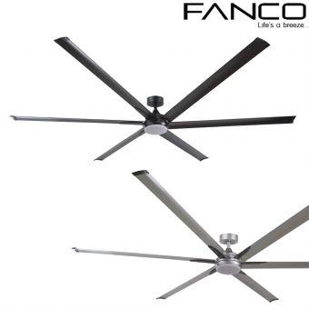 Fanco E-LITE Ceiling Fan 96inch without LED