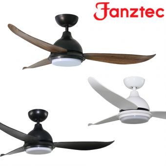 Fanztec Glide 2 Ceiling Fan 38/43/48inch with LED