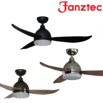 Fanztec Vane Ceiling Fan 43/48inch with LED