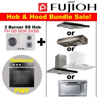 FH-GS5030 SVSS & Hood with optional PWP Oven bundle
