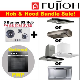 FH-GS5035 SVSS & Hood with optional PWP Oven bundle