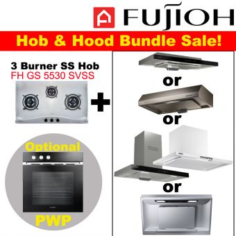 FH-GS5530 SVSS & Hood with optional PWP Oven bundle