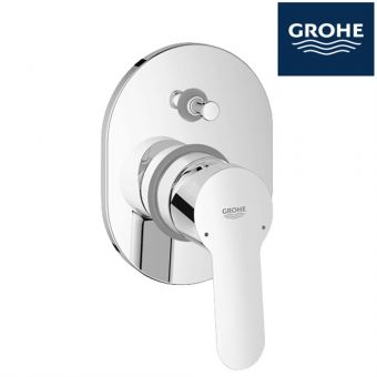GROHE 29039000 BAUEDGE CONCEAL BATH/SHOWER MIXER