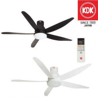 KDK U60FW Ceiling Fan 60inch with LED