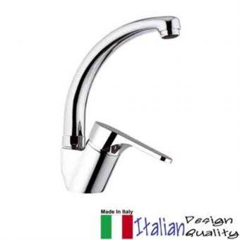 Roz Classline Gooseneck Cold Sink Tap Cp