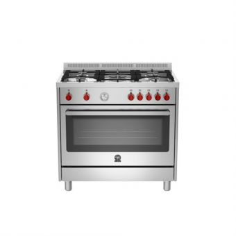 La Germania 90cm Free Standing Cooker Oven RIS95C 61L B X