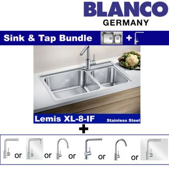 Lemis XL 8-IF & Faucets bundle