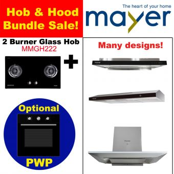 MMGH222 & Hood with optional PWP Oven bundle