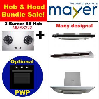 MMSS222 & Hood with optional PWP Oven bundle
