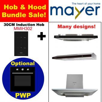 MMIH302HS & Hood with optional PWP Oven bundle