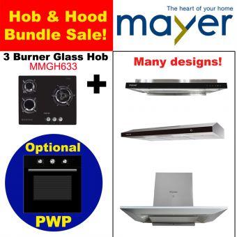 MMGH633 & Hood with optional PWP Oven bundle