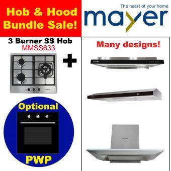 MMSS633 & Hood with optional PWP Oven bundle