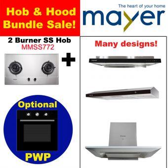 MMSS772 & Hood with optional PWP Oven bundle
