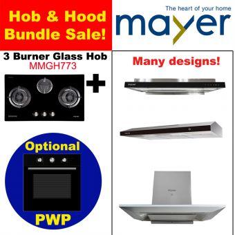 MMGH773 & Hood with optional PWP Oven bundle