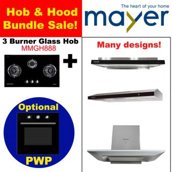 MMGH888 & Hood with optional PWP Oven bundle