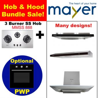 MMSS888 & Hood with optional PWP Oven bundle
