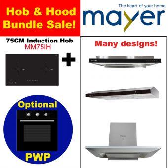 MM75IH & Hood with optional PWP Oven bundle