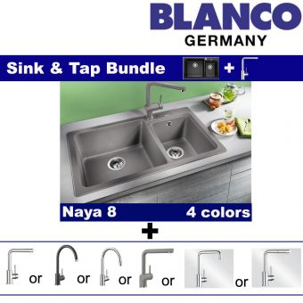 Naya 8 & Faucets bundle
