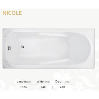 Sovereign Spas Nicole Inset Bathtub