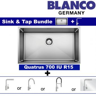 QUATRUS R15 700-IU & Faucets bundle