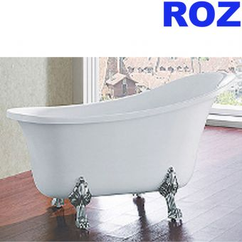 ROZ RZ-1036 160CM  ROLLTOP PORTABLE TUB CHROME