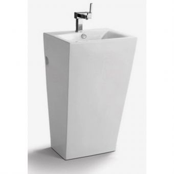 Roz Full Pedestal Square Basin