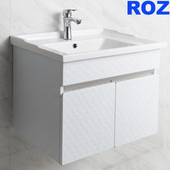 Roz Diamond White Basin Cabinet RT-054W