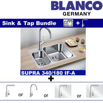 Supra 340/180-IF/A & Faucets bundle
