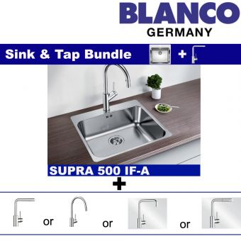 Supra 500-IF/A & Faucets bundle