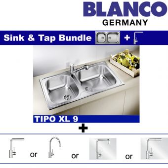 Tipo XL 9 & Faucets bundle