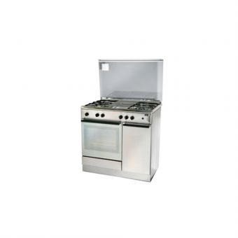 Turbo Incanto 90cm Free Standing Cooker With Gas Oven T9640WSSV