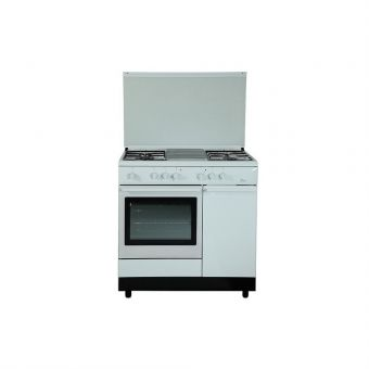 Turbo Incanto 90cm Free Standing Cooker With Gas Oven T9640WV