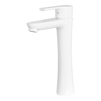 Rubine UNICO-5621LX-WH Highbody Basin Mixer