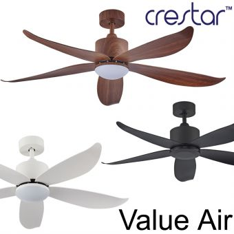 Crestar Value Air Ceiling Fan 48/55inch with Light option