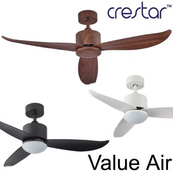 Crestar Value Air Ceiling Fan 40/46inch with Light option