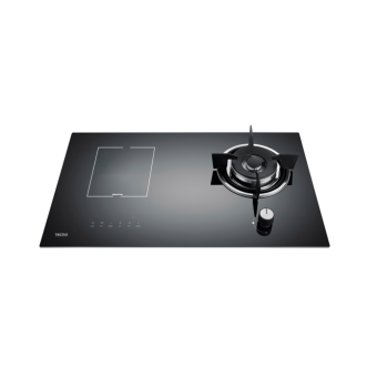 Tecno T788GI Gas-Induction Hybrid Glass Hob